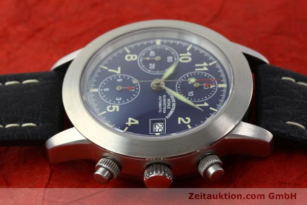 Used luxury watch Mühle Sport Chronograph chronograph steel automatic Kal. ETA 7750 Ref. M12300  | 141220 05