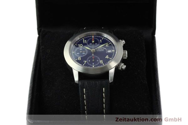 Used luxury watch Mühle Sport Chronograph chronograph steel automatic Kal. ETA 7750 Ref. M12300  | 141220 07