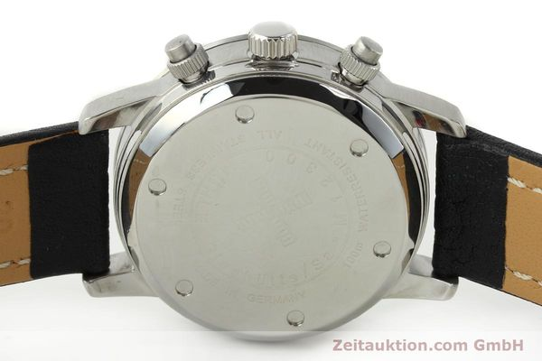 Used luxury watch Mühle Sport Chronograph chronograph steel automatic Kal. ETA 7750 Ref. M12300  | 141220 09