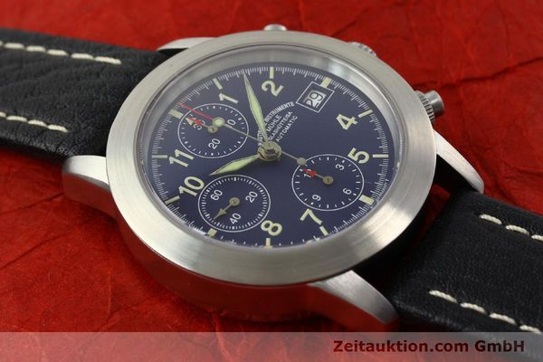 Used luxury watch Mühle Sport Chronograph chronograph steel automatic Kal. ETA 7750 Ref. M12300  | 141220 13