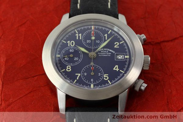Used luxury watch Mühle Sport Chronograph chronograph steel automatic Kal. ETA 7750 Ref. M12300  | 141220 14