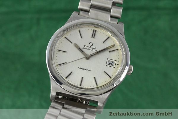 Used luxury watch Omega * steel automatic Kal. 1012  | 141221 04