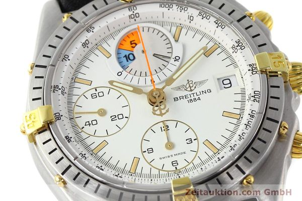 Used luxury watch Breitling Chronomat chronograph steel / gold automatic Kal. B13 VAL 7750 Ref. 81.950B1347  | 141222 02