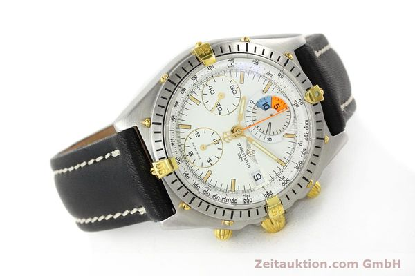 Used luxury watch Breitling Chronomat chronograph steel / gold automatic Kal. B13 VAL 7750 Ref. 81.950B1347  | 141222 03