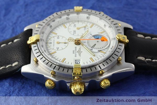 Used luxury watch Breitling Chronomat chronograph steel / gold automatic Kal. B13 VAL 7750 Ref. 81.950B1347  | 141222 05