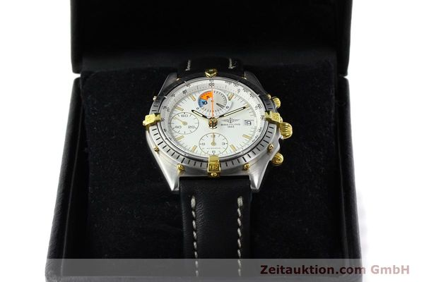 Used luxury watch Breitling Chronomat chronograph steel / gold automatic Kal. B13 VAL 7750 Ref. 81.950B1347  | 141222 07