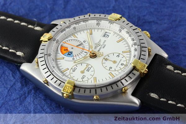 Used luxury watch Breitling Chronomat chronograph steel / gold automatic Kal. B13 VAL 7750 Ref. 81.950B1347  | 141222 12