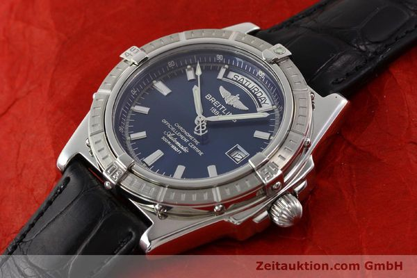 Used luxury watch Breitling Windrider steel automatic Kal. B45 ETA 2834-2 Ref. A45355  | 141226 01