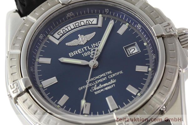Used luxury watch Breitling Windrider steel automatic Kal. B45 ETA 2834-2 Ref. A45355  | 141226 02