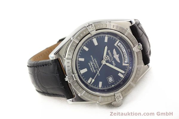 Used luxury watch Breitling Windrider steel automatic Kal. B45 ETA 2834-2 Ref. A45355  | 141226 03