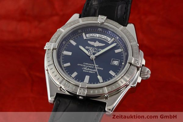 Used luxury watch Breitling Windrider steel automatic Kal. B45 ETA 2834-2 Ref. A45355  | 141226 04