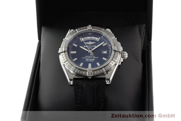 Used luxury watch Breitling Windrider steel automatic Kal. B45 ETA 2834-2 Ref. A45355  | 141226 07