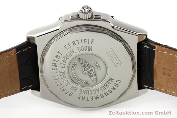 Used luxury watch Breitling Windrider steel automatic Kal. B45 ETA 2834-2 Ref. A45355  | 141226 09