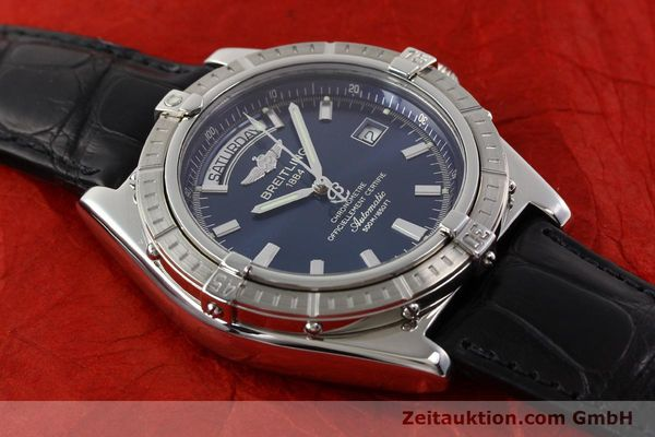 Used luxury watch Breitling Windrider steel automatic Kal. B45 ETA 2834-2 Ref. A45355  | 141226 14