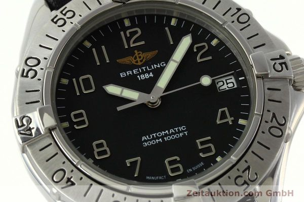 Used luxury watch Breitling Colt steel automatic Kal. B17 ETA 2824-2 Ref. A17035  | 141228 02