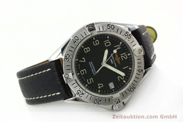 Used luxury watch Breitling Colt steel automatic Kal. B17 ETA 2824-2 Ref. A17035  | 141228 03