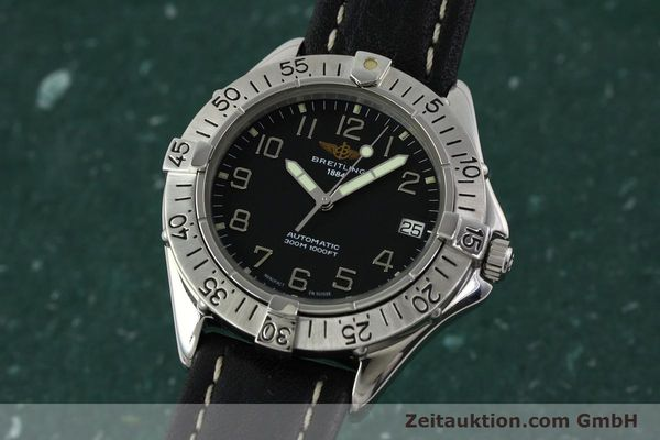 Used luxury watch Breitling Colt steel automatic Kal. B17 ETA 2824-2 Ref. A17035  | 141228 04