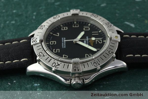 Used luxury watch Breitling Colt steel automatic Kal. B17 ETA 2824-2 Ref. A17035  | 141228 05