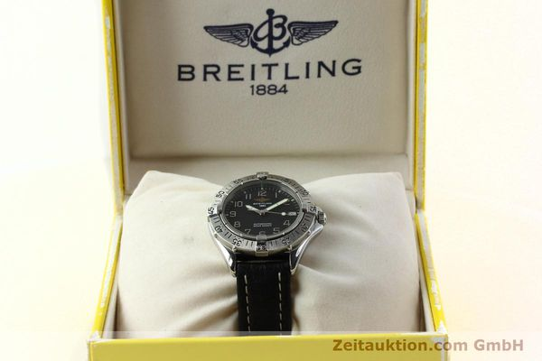 Used luxury watch Breitling Colt steel automatic Kal. B17 ETA 2824-2 Ref. A17035  | 141228 07