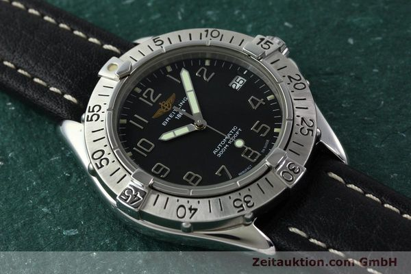 Used luxury watch Breitling Colt steel automatic Kal. B17 ETA 2824-2 Ref. A17035  | 141228 15