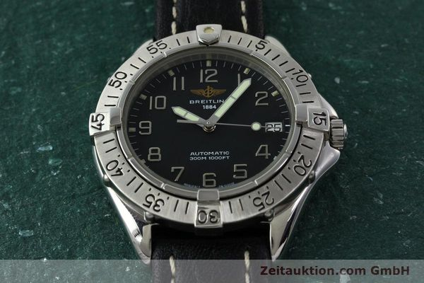 Used luxury watch Breitling Colt steel automatic Kal. B17 ETA 2824-2 Ref. A17035  | 141228 16