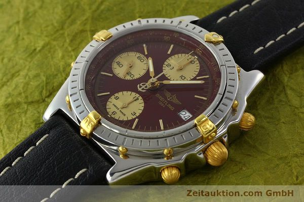 Used luxury watch Breitling Chronomat chronograph steel / gold automatic Kal. B13 ETA 7750 Ref. B13050.1  | 141230 01