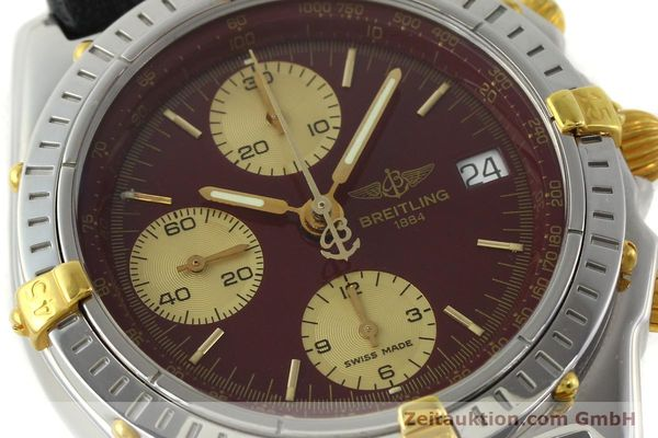 Used luxury watch Breitling Chronomat chronograph steel / gold automatic Kal. B13 ETA 7750 Ref. B13050.1  | 141230 02