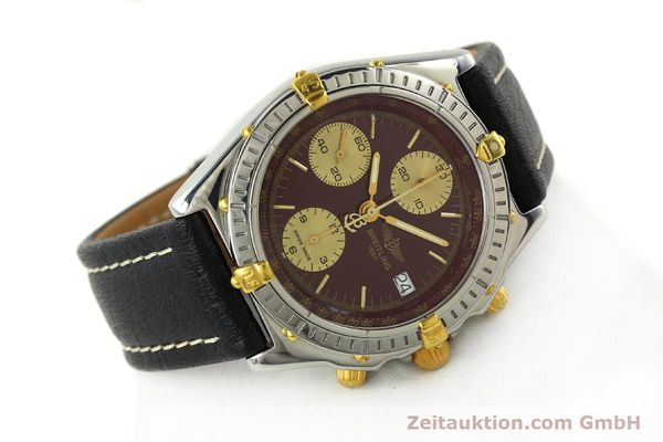 Used luxury watch Breitling Chronomat chronograph steel / gold automatic Kal. B13 ETA 7750 Ref. B13050.1  | 141230 03