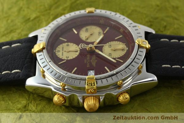 Used luxury watch Breitling Chronomat chronograph steel / gold automatic Kal. B13 ETA 7750 Ref. B13050.1  | 141230 05