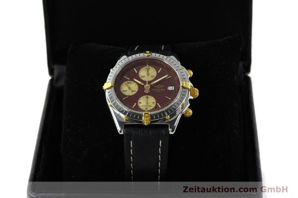Used luxury watch Breitling Chronomat chronograph steel / gold automatic Kal. B13 ETA 7750 Ref. B13050.1  | 141230 07