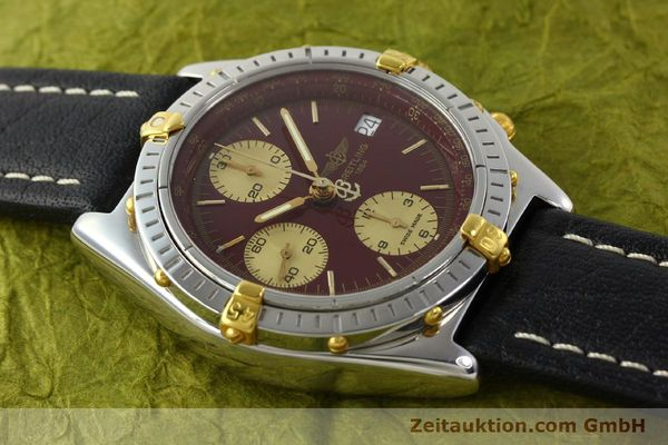 Used luxury watch Breitling Chronomat chronograph steel / gold automatic Kal. B13 ETA 7750 Ref. B13050.1  | 141230 13