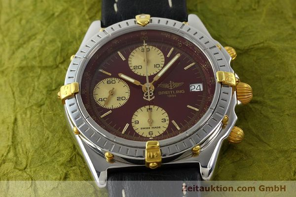 Used luxury watch Breitling Chronomat chronograph steel / gold automatic Kal. B13 ETA 7750 Ref. B13050.1  | 141230 14