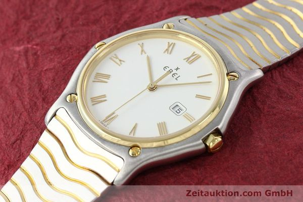 Used luxury watch Ebel Classic Wave steel / gold quartz Kal. 83 Ref. 183903  | 141234 01