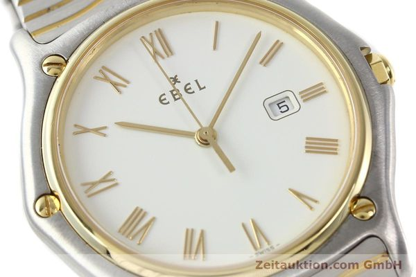 Used luxury watch Ebel Classic Wave steel / gold quartz Kal. 83 Ref. 183903  | 141234 02