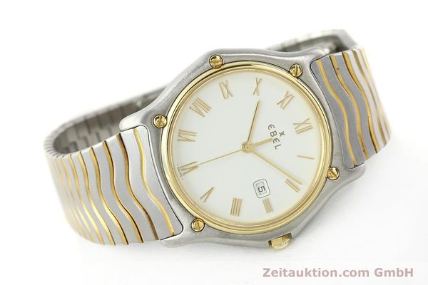 Used luxury watch Ebel Classic Wave steel / gold quartz Kal. 83 Ref. 183903  | 141234 03