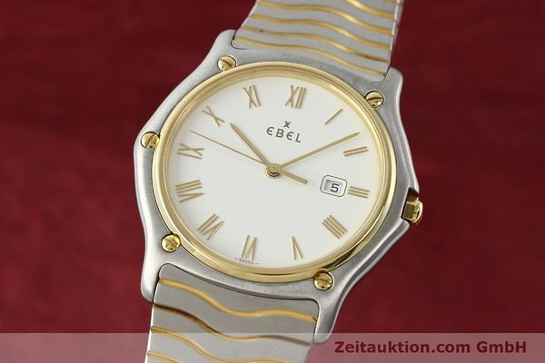 Used luxury watch Ebel Classic Wave steel / gold quartz Kal. 83 Ref. 183903  | 141234 04
