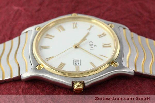 Used luxury watch Ebel Classic Wave steel / gold quartz Kal. 83 Ref. 183903  | 141234 05
