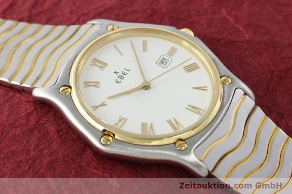 Used luxury watch Ebel Classic Wave steel / gold quartz Kal. 83 Ref. 183903  | 141234 13