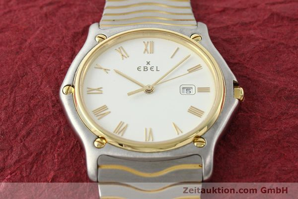 Used luxury watch Ebel Classic Wave steel / gold quartz Kal. 83 Ref. 183903  | 141234 14