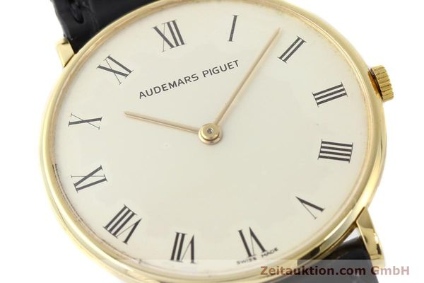 Used luxury watch Audemars Piguet * 18 ct gold manual winding Kal. 2003/1 Ref. C18686  | 141236 02
