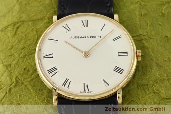 Used luxury watch Audemars Piguet * 18 ct gold manual winding Kal. 2003/1 Ref. C18686  | 141236 16