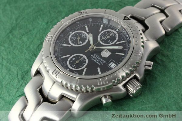 Used luxury watch Tag Heuer Link steel automatic Kal. ETA 7750 Ref. CT2111  | 141239 01