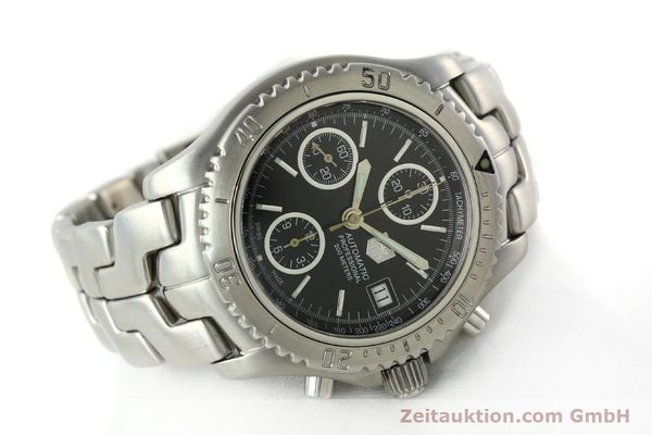 Used luxury watch Tag Heuer Link steel automatic Kal. ETA 7750 Ref. CT2111  | 141239 03