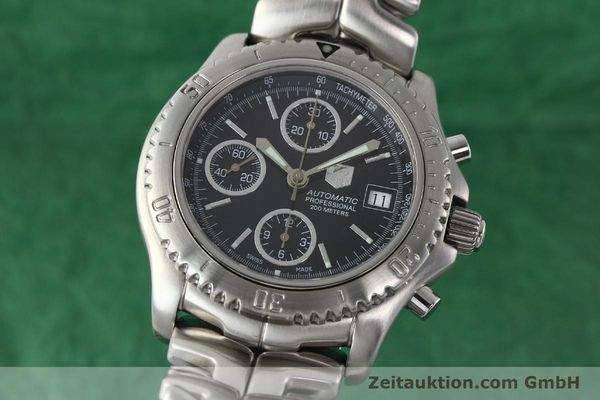 Used luxury watch Tag Heuer Link steel automatic Kal. ETA 7750 Ref. CT2111  | 141239 04