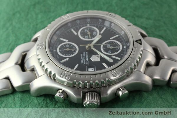 Used luxury watch Tag Heuer Link steel automatic Kal. ETA 7750 Ref. CT2111  | 141239 05