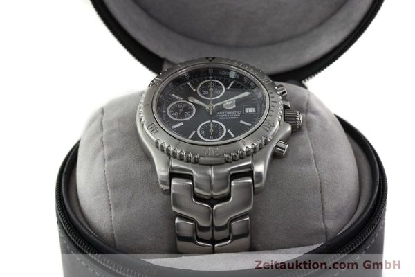 Used luxury watch Tag Heuer Link steel automatic Kal. ETA 7750 Ref. CT2111  | 141239 07