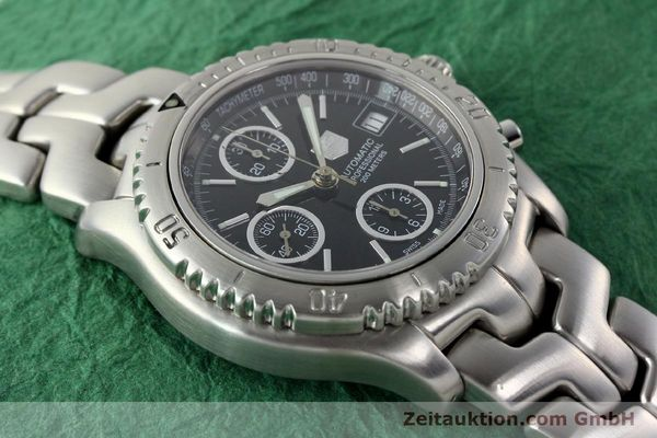Used luxury watch Tag Heuer Link steel automatic Kal. ETA 7750 Ref. CT2111  | 141239 14
