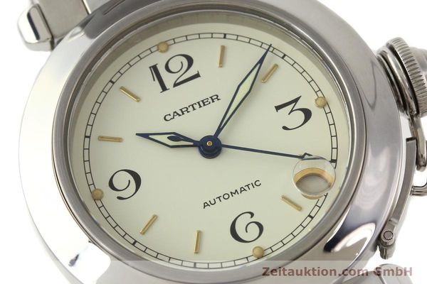 Used luxury watch Cartier Pasha steel automatic  | 141241 02