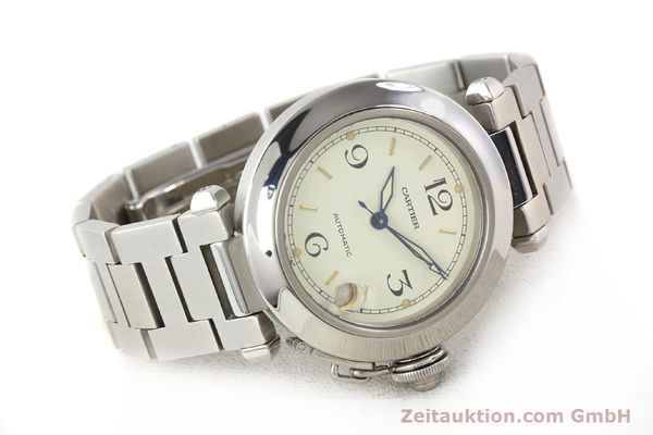 Used luxury watch Cartier Pasha steel automatic  | 141241 03