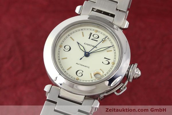 Used luxury watch Cartier Pasha steel automatic  | 141241 04